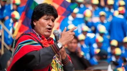 Evo Morales: Chile tiene