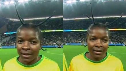Juegos Olímpicos: jugadora de Zimbabwe asombra al mundo con su peinado