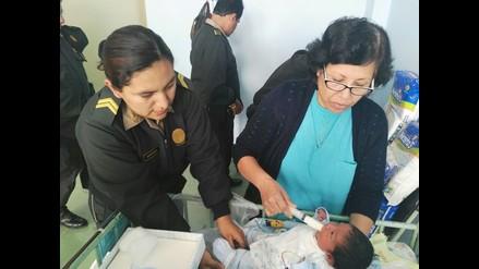 Chimbote: bebé abandonado padece de hidrocefalia leve