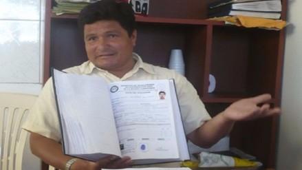 Miguel Díaz Navidad renunció a sindicato regional de construcción civil