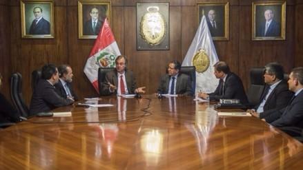Ministro del Interior y Fiscal de la Nación fijan estrategias contra delincuencia