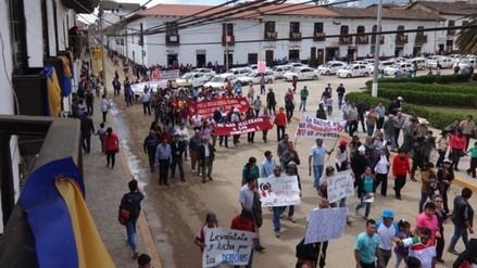 Chachapoyas: pobladores exigen reparación de calles dañadas