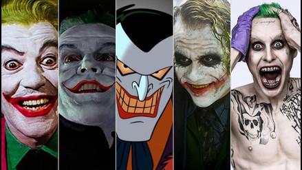 YouTube: estos son todos los rostros del Joker en casi 50 años de existencia