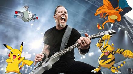 YouTube: Así se vería Metallica interpretando el tema de Pokémon Go