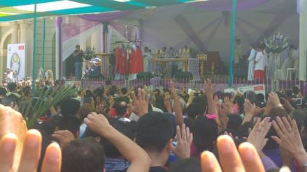 Cerca de 50 mil personas veneraron a Cruz de Motupe en su día central