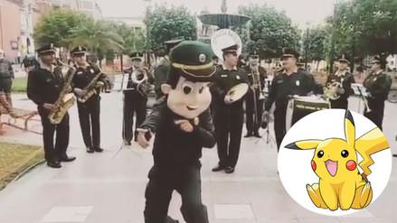 Facebook: banda musical de la PNP toca la canción de Pokémon