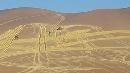 Inician trabajos para restauración de zona dañada cerca de El Candelabro