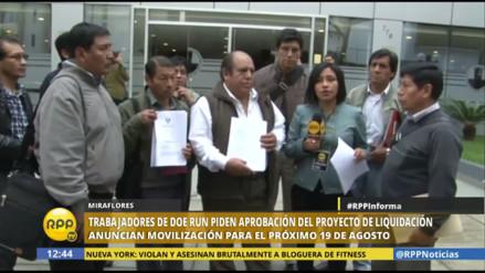 """Dirigentes de La Oroya: """"Pedimos a Fuerza Popular aprobar proyecto de ley"""""""