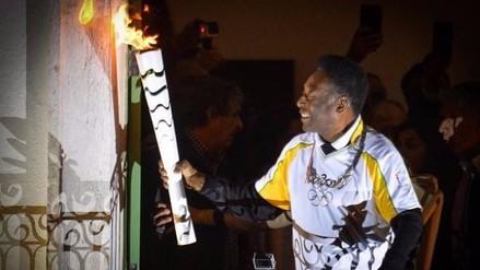 Río 2016: Pelé no encenderá el pebetero olímpico por problemas de salud