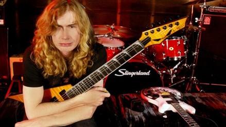 Megadeth: Dave Mustaine visita a fan herido en concierto