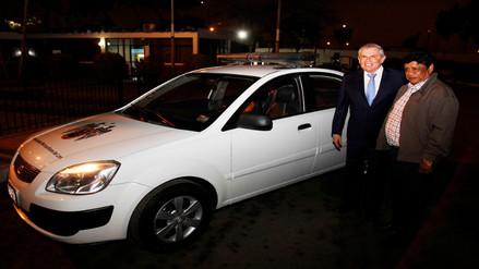 Municipalidad de Lima cede vehículo para patrullaje en el distrito de Pimentel