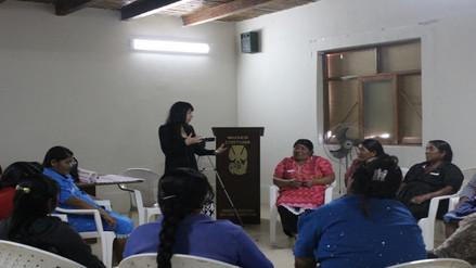 Realizarán campaña de salud para mujeres de los caseríos aledaños al Museo Chotuna