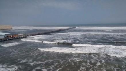 Pisco: disponen cierre de puertos y caletas por fuertes vientos
