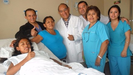 Médicos de EsSalud operaron a niña con mal cardiaco congénito sin abrir corazón