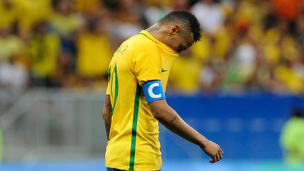 Río 2016: Brasil empató sin goles ante Irak y peligra su clasificación