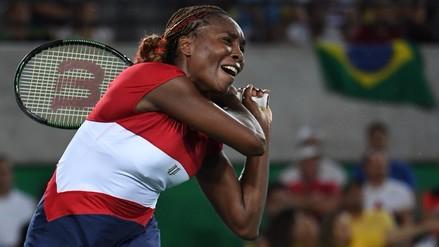 Sorpresa en Río 2016: Venus Williams eliminada en primera ronda