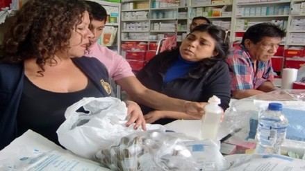 En lo que va del año se decomisó una tonelada y media de medicamentos de contrabando