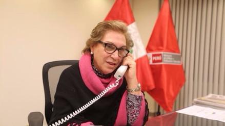 Trujillo: ministra de la Mujer apoya marcha 'Ni Una Menos'