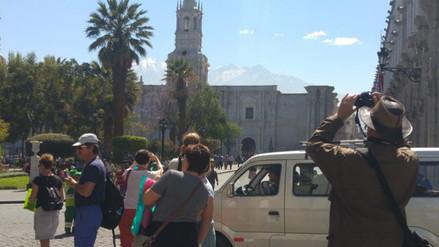 Servicio aéreo copado al 90% en primeros días de mes de aniversario de Arequipa