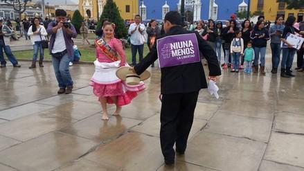 Ni una menos: Trujillo se suma a campaña nacional