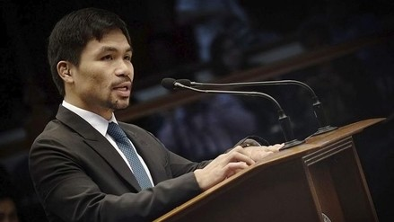Pacquiao defiende su propuesta de reimplantar la pena de muerte