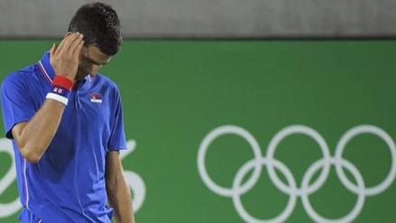 Río 2016: Novak Djokovic cayó en dobles y se aleja del sueño olímpico
