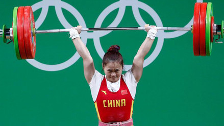 Río 2016: china Deng Wei batió récord mundial en levantamiento de pesas