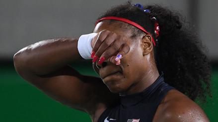 Río 2016: Serena Williams quedó eliminada a manos de Elina Svitolina