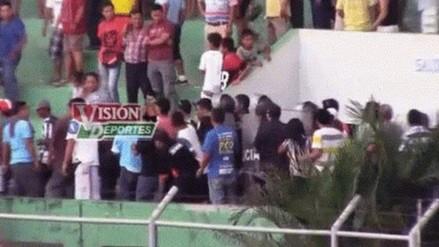 Clausuran estadio de Pucallpa tras caer hincha de tribuna