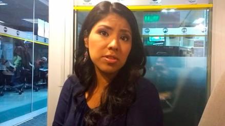 """Indira Huilca: """"En Venezuela hay un gobierno con un perfil autoritario"""""""