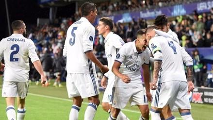 Real Madrid campeón de la Supercopa de Europa: ganó 3-2 al Sevilla