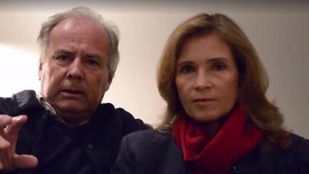 Alfredo Barnechea y su esposa invitan a participar de marcha Ni Una Menos