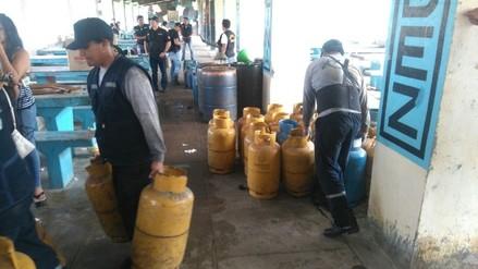 Decomisan combustible de procedencia ilegal en Aguas Verdes