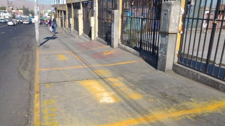 Realizan pintas en calles por donde pasará corso de Arequipa