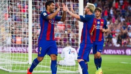 Barcelona derrotó 3-2 a Sampdoria y se llevó el Trofeo Joan Gamper