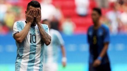 Río 2016: Argentina empató ante Honduras y quedó eliminada en primera fase