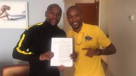 Boxeo: Carlos 'Mina' Zambrano firmó por promotora de Floyd Mayweather