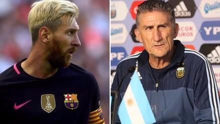 Lionel Messi: Edgardo Bauza dialogó con la Pulga en Barcelona