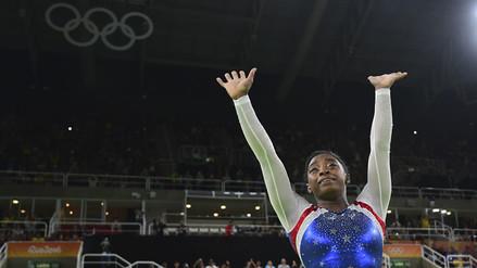 Río 2016: Simone Biles ganó concurso general de gimnasia y sumó segundo oro