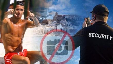 Cristiano Ronaldo mandó a su seguridad a borrar fotos de fans, aseguran