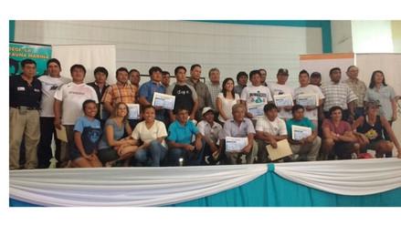 Piura: reconocen a 23 pescadores por preservar fauna marina