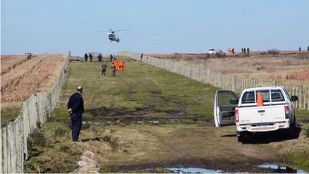 Video: avión de la Fuerza Aérea de Uruguay se estrelló y dejós dos muertos