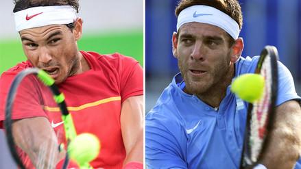 Río 2016: Rafael Nadal y Juan Martín del Potro en semifinales de tenis