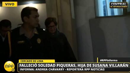 Susana Villarán y sus familiares llegaron a la morgue de Lima