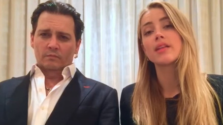 YouTube: Filtran video de Johnny Depp discutiendo con Amber Heard