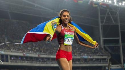 Yulimar Rojas, la medallista venezolana que conoció a su entrenador en Facebook