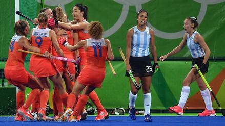Río 2016: Las Leonas quedaron eliminadas a manos de Holanda en hockey