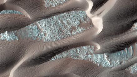 Las bellas imágenes de Marte en alta definición captadas por la NASA