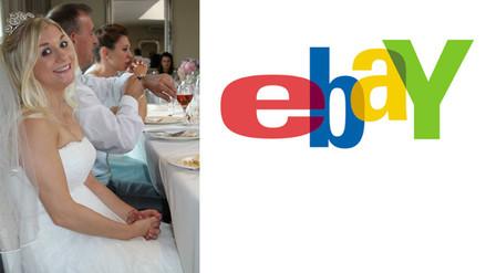 Mujer vende su vestido de novia en eBay para costear su divorcio
