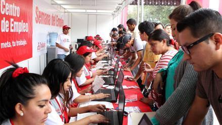 INEI: Hay 361,300 desempleados en Lima Metropolitana
